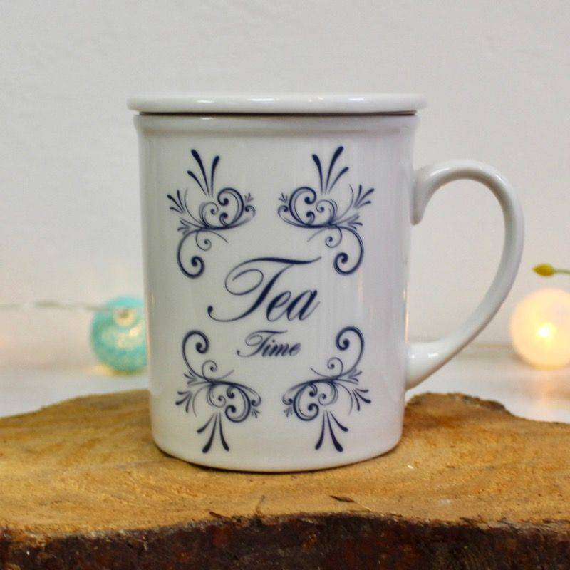 Tisanera Tea Time Porcelana Infusor