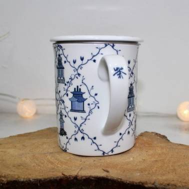 Tisanera Lanyu Porcelana Infusor