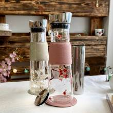 botella cristal eve eigenart blossom ice tea
