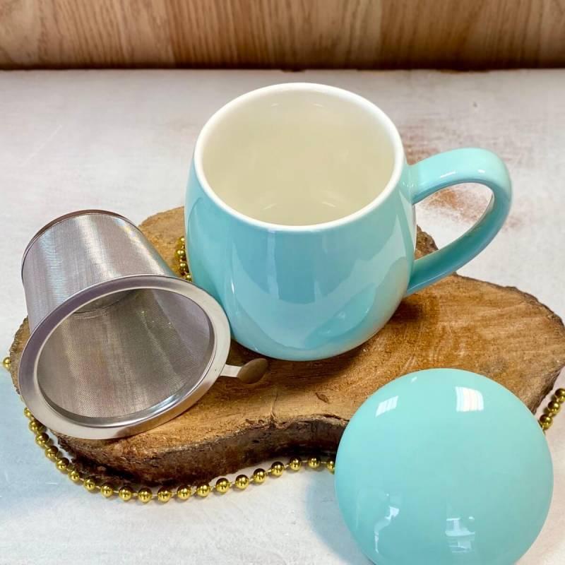 Tisanera turquesa tea time tealovers