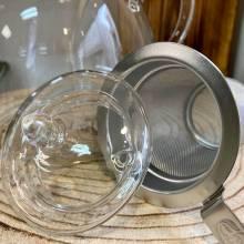tetera cristal filtro acero tealovers