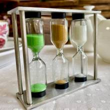 reloj de arena tea timer tealovers afternoon tea