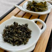 Milky Oolong Té Azul China Semi Fermentado Hebras