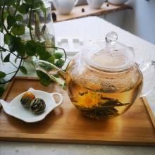 blooming tea marigold