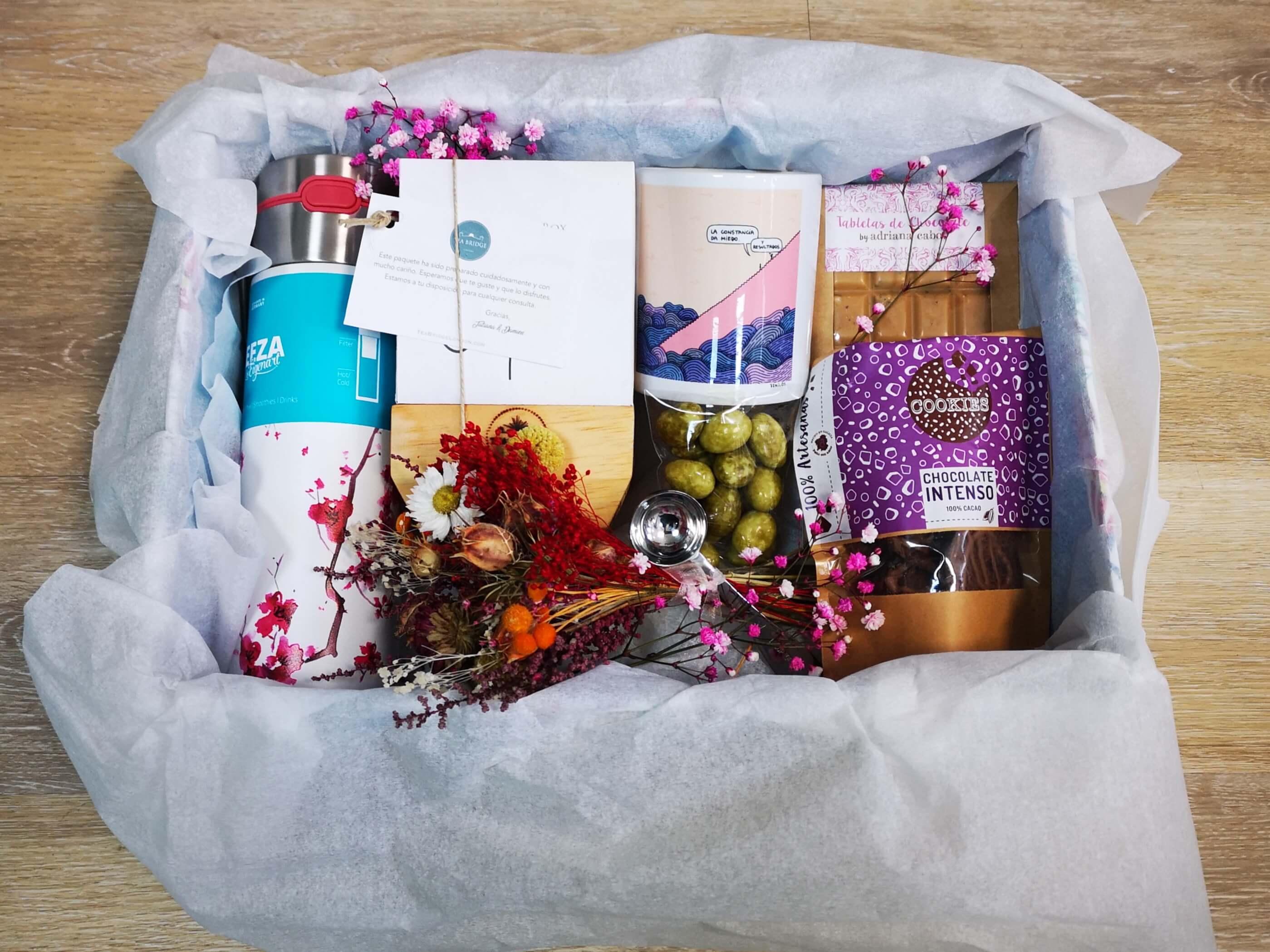 Caja regalo website