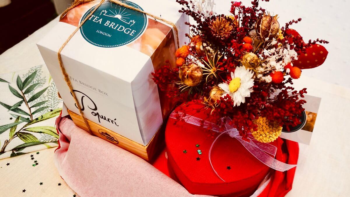 Pack San Valentín - Tea Bridge Box
